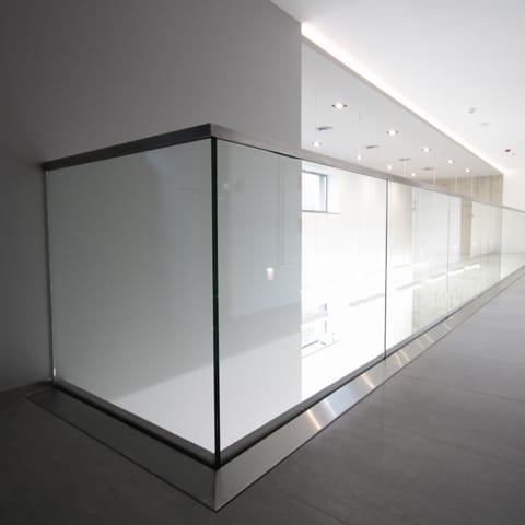 Poważne Balustrady Szklane • Balustrady Całoszklane • Barierki Szklane AI01