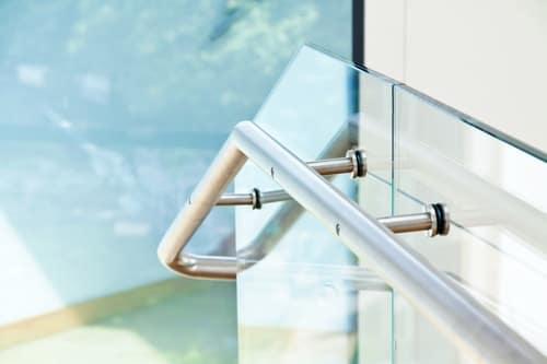 Okucia do szkła hartowanego aluminiowe