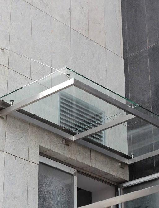 LinealSYSTEM - Mocowanie do szkła daszków